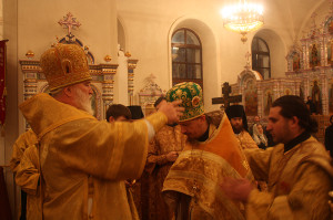 Возведение в сан архимандрита игумена Игнатия (Румянцева) Фото http://www.ryazeparh.ru