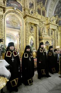 Наречение архимандрита Игнатия (Румянцева) во епископа Уваровского и Кирсановского. Фото  http://www.patriarchia.ru/