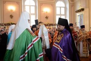 Напутствие Патриарха при вручении архиерейского жезла. 25 января 2013 года. Фото www.patriarchia.ru