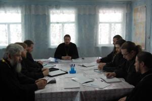 Епархиальный совет с благочинными епархии