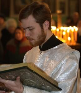 Священник Михаил Дымсков, настоятель Никольского храма р.п. Инжавино