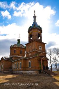 Храм в честь Казанской иконы Божией Матери в с. Курдюки