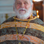 Священник Алексий Стрекалов, настоятель Покровского храма с. Ольховка