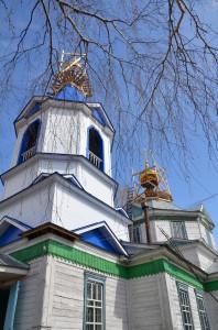 Покровский храм в с. Ольховка