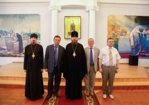 Участники  встречи. Фото www.eparhia-tmb.ru