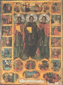 Преподобномученики Акакий, Игнатий и Евфимий