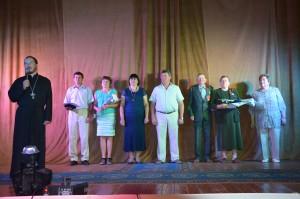 Чествование семейных пар, награждённых медалью за любовь и верность
