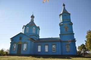 Свято-Троицкий храм с. Оржевка Уметского района