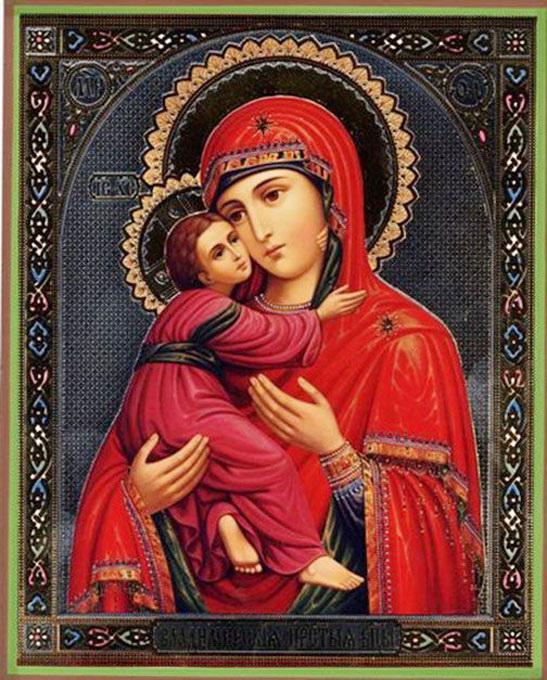 Владимирская икона божией матери2 - возрождение державы